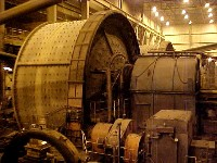 Autogenous 1200-inch Mill Trunnion Repair